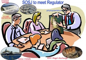 Picture of meeting: SOSJ to meet environmental regulator Dr Tim du Feu