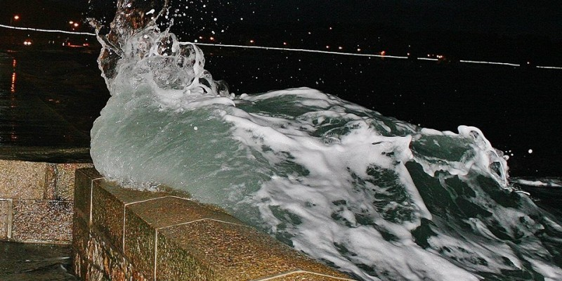 No 12 ~ Storm Wave ~ St Aubin ~ Jacqui Carrel