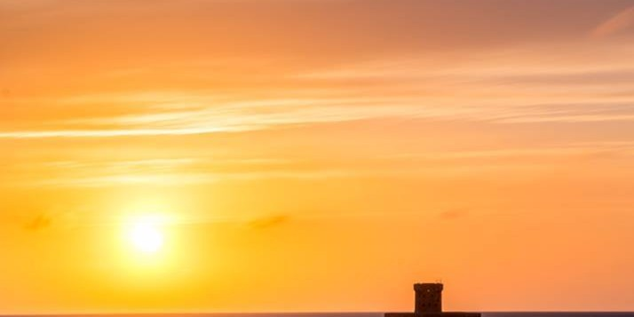 No 18 - Sunset at Le Braye - Helier Smith - sos jersey photo competition