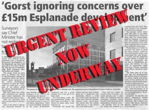 urgent esplanade review ordered - sos jersey 2014