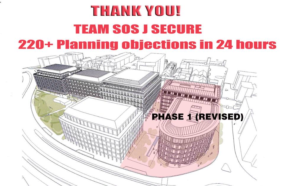 Esplanade News – 220+ planning objections in 24 hours!
