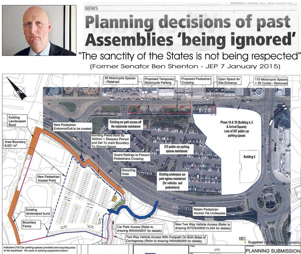 Esplanade planning decisions being ignored