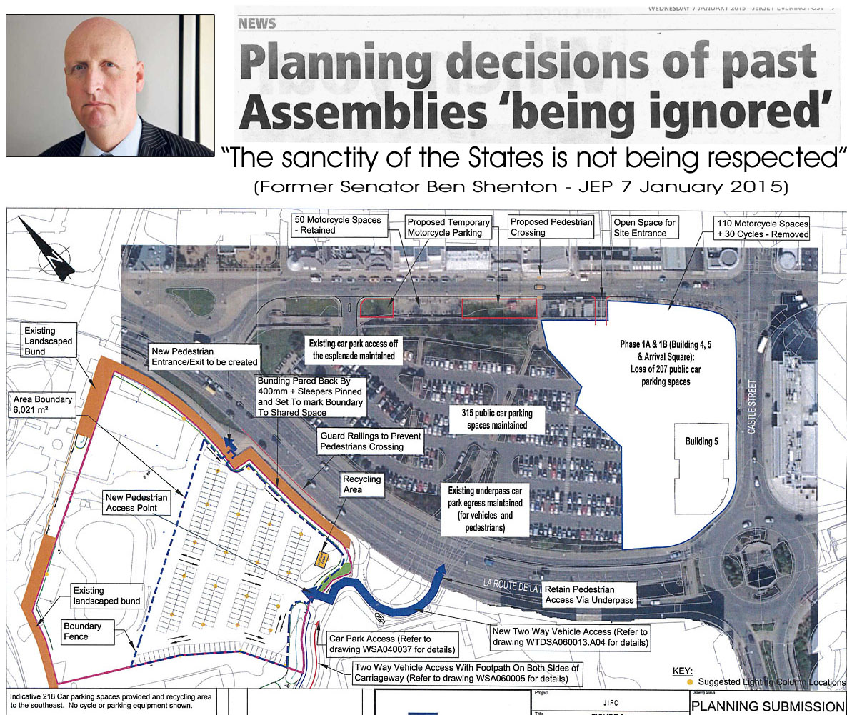 Esplanade car park development – new plans submitted