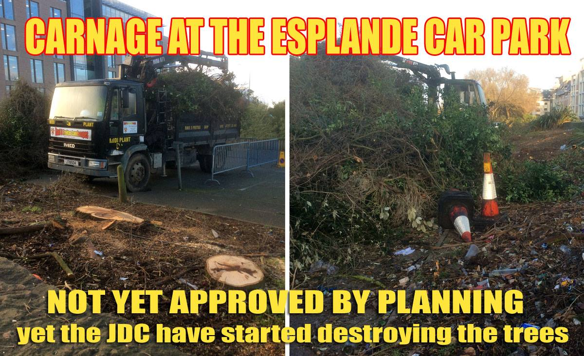 Illegal Esplanade Carnage by JDC