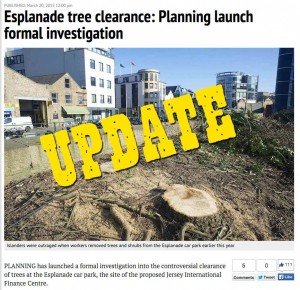 Jersey - Esplanade Development Update, 23 March 2015