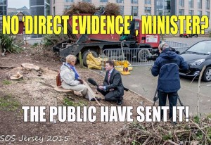 Esplanade transgression ~ the public send in evidence ~ SOS Jersey March 2015