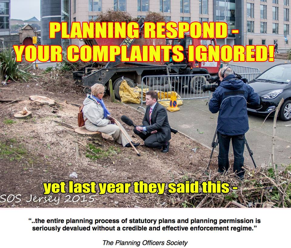 Planning's response to Esplanade letter – No surprises, sadly!