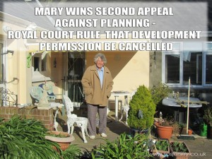 Mary Herold Planning Win - May 2015
