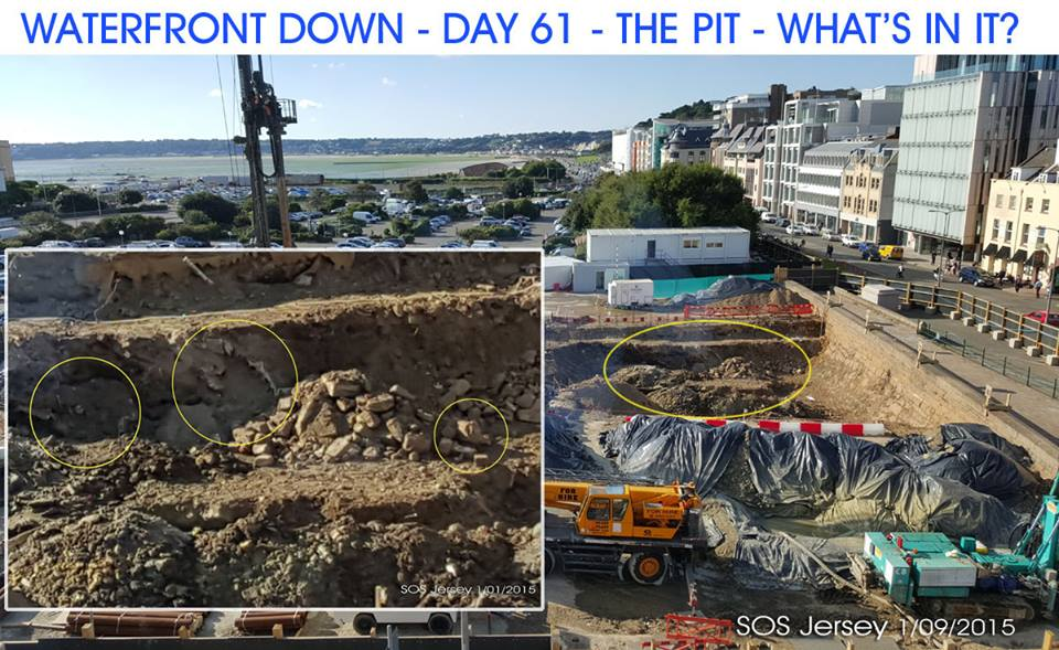 The Esplanade pit – what is in it?