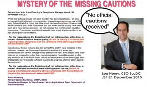 mystery of the missing cautions - dec 2015