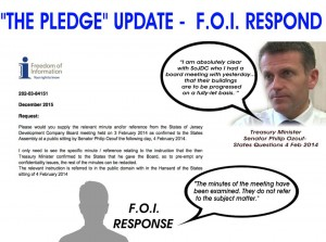FOI response to what Ozouf really said about Building 4 - International Finance Centre Jersey - Save Our Shoreline Jersey