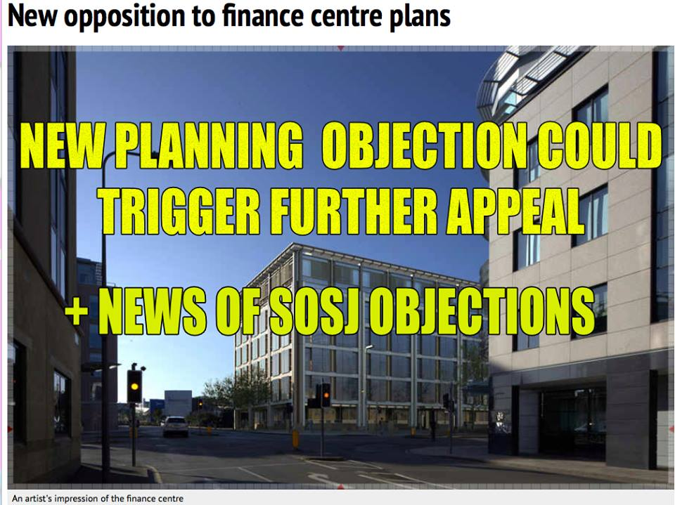 Objections mount over SoJDC's new planning application for Building 5