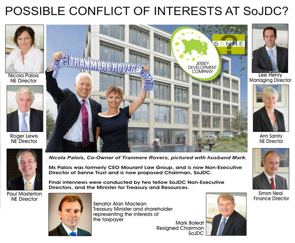 Possible conflicts of interest at SoJDC?