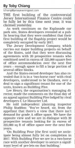 JEP 23 March 2016 - Report on Building 5 Planning Appeal - 1