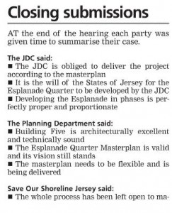 JEP 23 March 2016 - Report on Building 5 Planning Appeal - 3