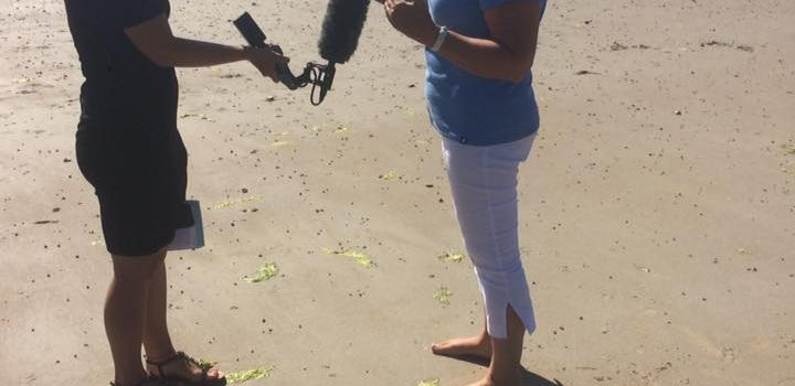 SOSJ in the News about the sea lettuce problem