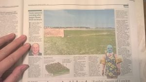 Jersey's sea lettuce and SOS Jersey in The Times - 13 Jan 2017