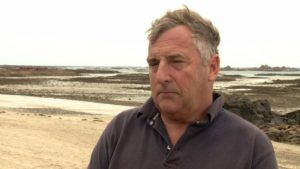 Tony Legg - Jersey aquaculture specialist appearing on Channel TV