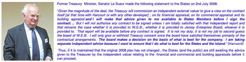 Senator le Sueur statement