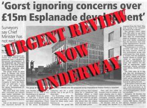urgent esplanade review ordered - sos jersey 2014