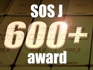 600+ award- for awardee use