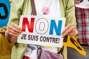 esplanade protest - jacqui carrel - jersey - 16 june 2015-26
