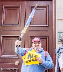 esplanade protest - jacqui carrel - jersey - 16 june 2015-63