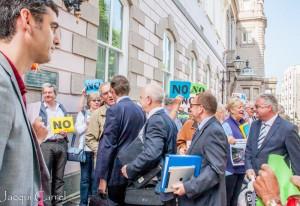 esplanade protest - jacqui carrel - jersey - 16 june 2015-89