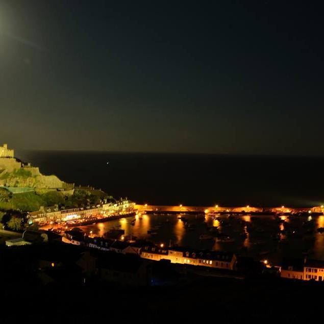 1st ~ Rohan Vanderborn ~ Super moon over Mont Orgueil
